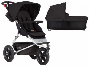Mountain Buggy Urban Jungle V3 Black inkl Bag Plus V3