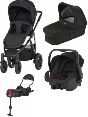 Britax Smile 2 Travel System Cosmos Black
