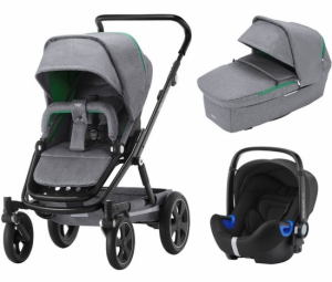 Britax Go Big² Travel System Dynamic Grey
