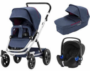 Britax Go Big² Travel System Oxford Navy