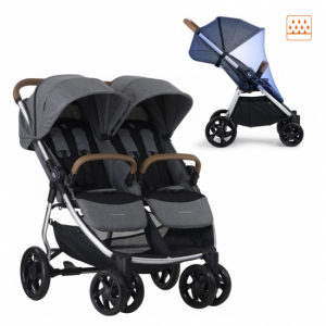 Crescent Duo Lightway Grey Melange Inkl. Regntrekk