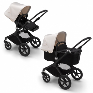 Bugaboo Fox2 Duovagn Black/Fresh White