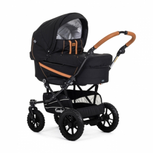 Emmaljunga 2019 Edge Duo S Outdoor Black
