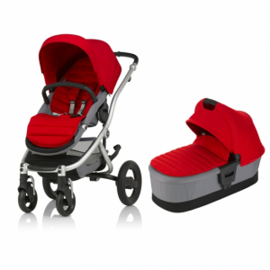 Britax Affinity 2 Flame Red Duo-pakke