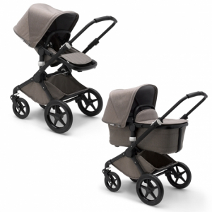 Bugaboo Fox Mineral Collection Taupe Black Chassi