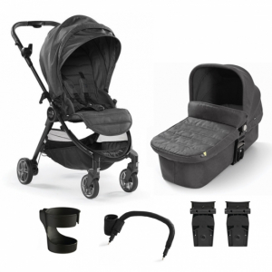 Pakke! Baby Jogger City Tour Lux Duo med utstyr