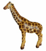 Green Rubber Toys Giraff